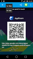 Screenshot of approom -Share App Link-