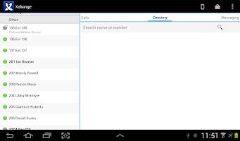 Screenshot of Samsung Xchange Mobile