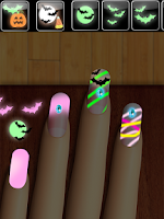 Screenshot of Glow Nails: Monster Manicure