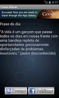Screenshot of Frases diárias