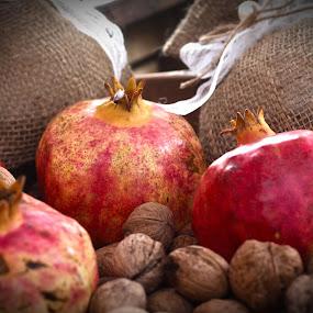 La Grenade by Jo Polyxromos - Food & Drink Fruits & Vegetables ( greece, fruits, summer )