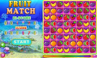 Screenshot of Fruit Match