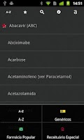 Screenshot of Medicamentos de A a Z