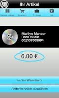 Screenshot of CD Ankauf ZeeDee
