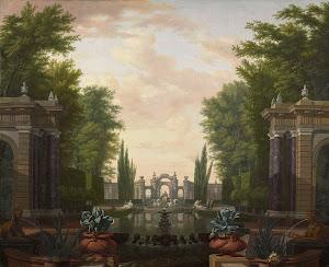 RIJKS: Isaac de Moucheron: painting 1744