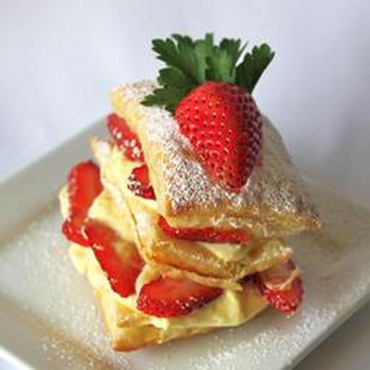 Strawberry Napoleons Recipe | Yummly