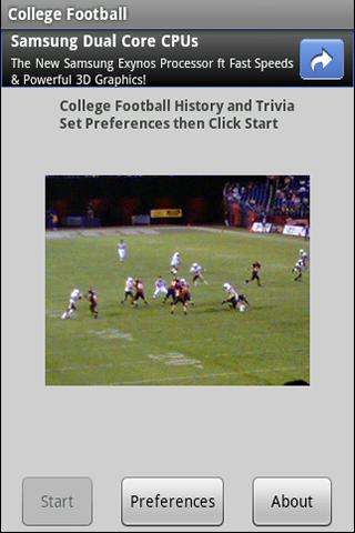 ncaa-college-football-history for android screenshot