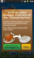 Screenshot of Burn the Turkey - Widget