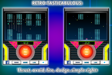 AstroFlaps space flappy FREE - screenshot