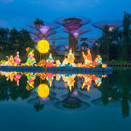 Mid Autumn Festival Lighting by Kafoor Sammil - News & Events World Events ( gbtb, mid autumn festival lighting, singapore )