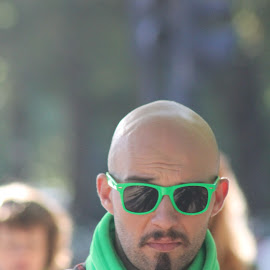 green is the new black by Andrew Warren - People Fashion