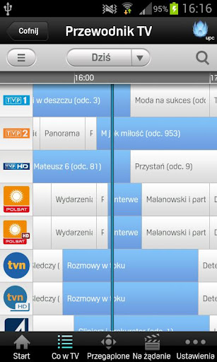 upc-tv-polska for android screenshot
