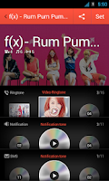 Screenshot of f(x) Rum Pum Pum... 4 dodolpop