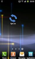 Screenshot of Widget Sync