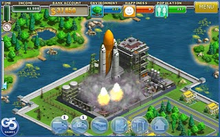 Screenshot of Virtual City