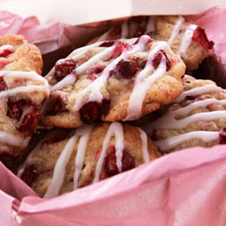 Cranberry Ginger Drop Cookies