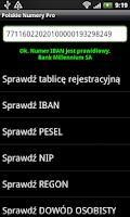 Screenshot of Polskie numery