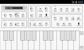 Screenshot of Common Analog Synthesizer