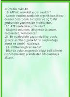 Screenshot of Biyoloji YGS LYS Ozet Bilgi