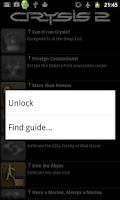 Screenshot of Crysis 2 Trophies