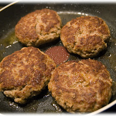 Turkey Burgers W/ Grated Zucchini & Carrots