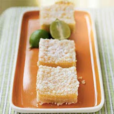 Streusel-Topped Key Lime Squares