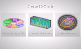 Screenshot of 3D Charts Pro
