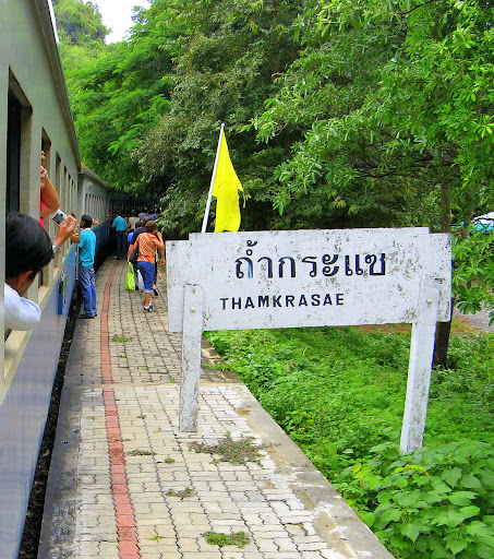 Stop at Tham Kra Sae