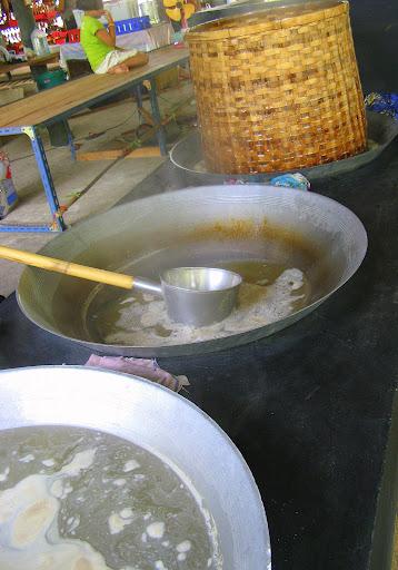 Boiling woks