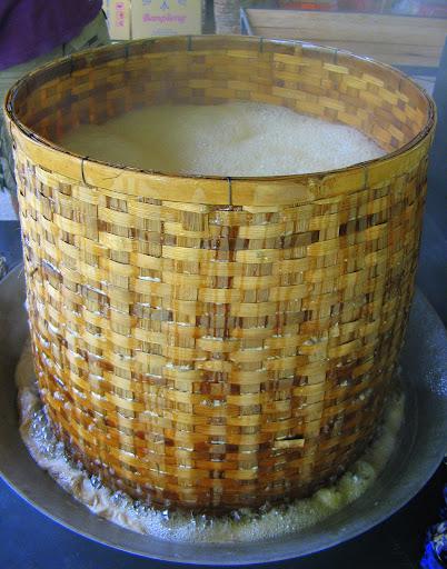 Boiling bamboo wok