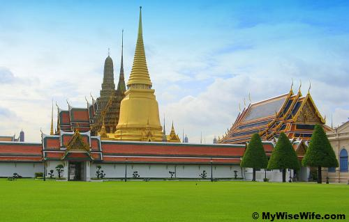 A peep of Grand Palace