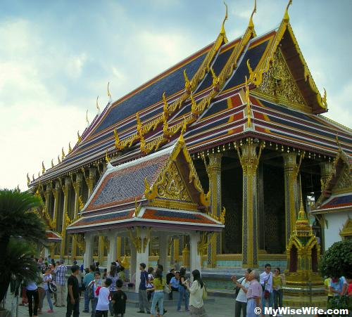 Wat Phra Keaw or Temple of Emerald Buddha