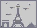 Thumbnail of the map 'Paris attacked'