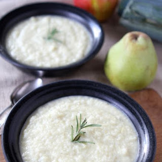Roasted Apple, Pear & Parsnip Soup