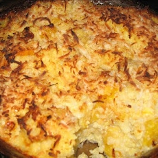 Banana, Mango, Apple Rice Kugel
