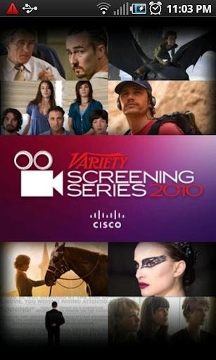 Variety Screening Series