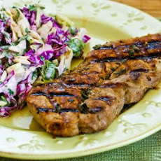 Greek-Seasoned Grilled Pork Chops with Lemon and Oregano