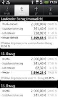 Screenshot of Gehaltsrechner Pro (Lizenz)