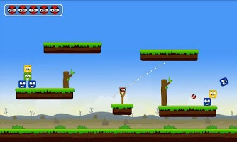 Screenshot of Knock Down