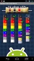 Screenshot of S2 Resistor Color Code
