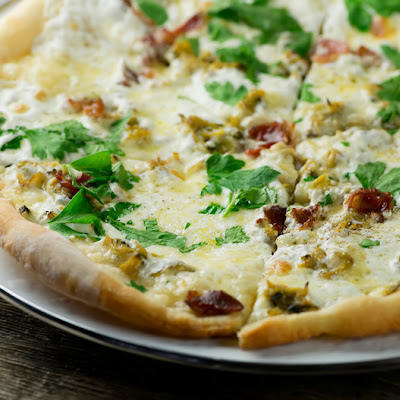 Bacon and Clam Pizza
