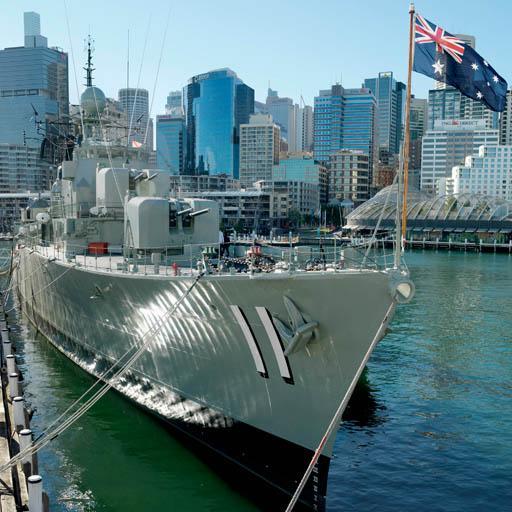 ANMM's HMAS Vampire tour LOGO-APP點子