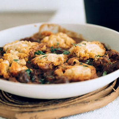 Lamb Chili with Masa Harina Dumplings