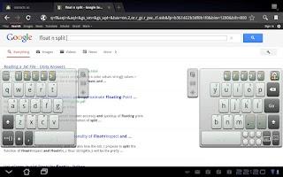 Screenshot of A.I.type Tablet Keyboard Free