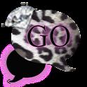 GO SMS THEME/LeopardDiamonds4U icon