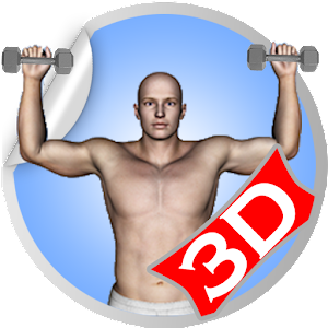 Shoulder 3D Workout Exercise
