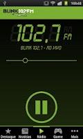 Screenshot of Blink 102 FM
