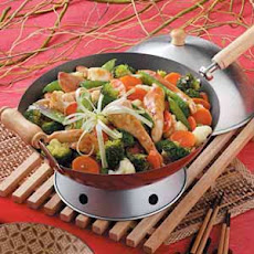 Vegetable Chicken Stir-Fry