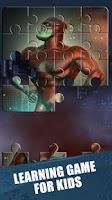 Screenshot of Superheroes-Jigsaw Puzzle Game