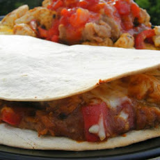 Chicken Quesadillas - Low Fat